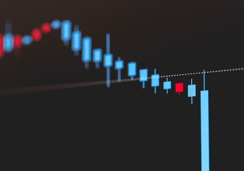 株価暴落イメージ