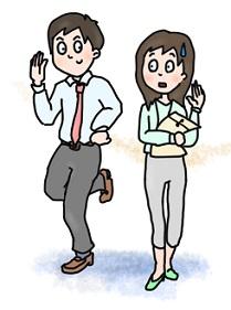社内恋愛で失敗した後の会社での行動方法(同じ部署の場合